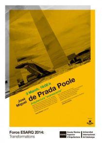"""ASEMAS: """"Arquitectura Evanescente"""" Conferencia de José Miguel de Prada Poole / España"""