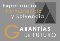 Experiencia, Permanencia y Solvencia. Garantías de Futuro.