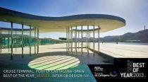 La terminal de Cuceros, ganadora del premio Interior Design