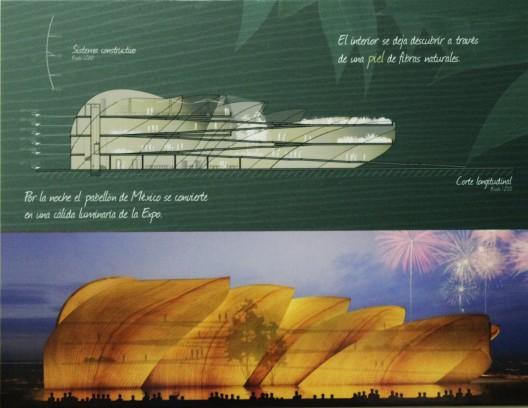 Fotografía de la lámina de la propuesta ganadora. Image © ArchDaily México