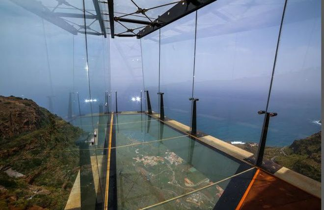 El mirador de Abrante, un referente internacional de la arquitectura. Fuente_eldia.es