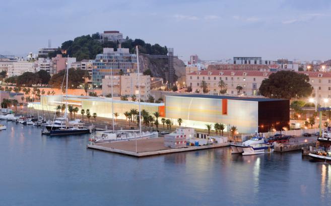 El B. Auditorio en Cartagena, de Selgas Cano Arquitectos, uno de los premios en Panorama de Obras. ELMUNDO.ES