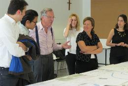 Rafael Moneo participa en una sesión crítica del Grado Internacional en Arquitectura de la Universidad CEU San Pablo