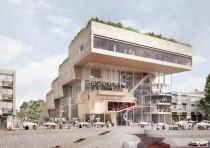 NL Architects ha sido elegida para diseñar el Centro ArtA de Arnhem