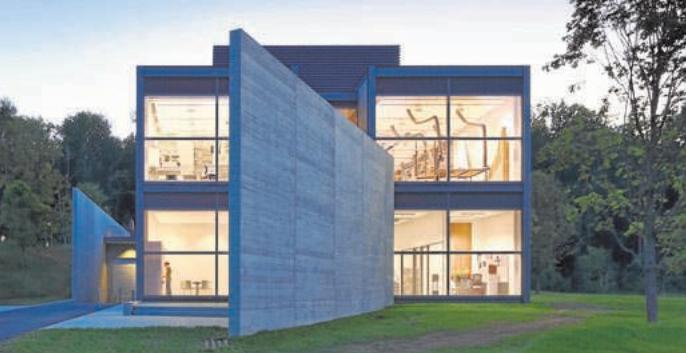 El museo en el paisaje de Tadao Ando