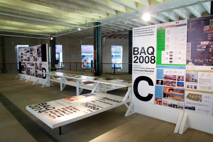 Exposición en Madrid de los proyectos ganadores de la Bienal de Arquitectura Panamericana de Quito