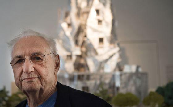 El arquitecto Frank Gehry. / BERTRAND LANGLOIS