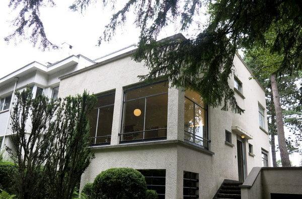 Vivienda de estilo modernista situada en el barrio de Uccle de Bruselas, creada por el arquitecto Henry van Velde en 1933 _ FOTO_ Raquel Castán _ EFE