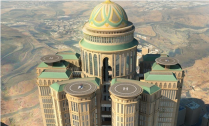 Desert fortress through the eyes of a Disneyland imagineer … the 45-storey Abraj Kudai hotel in Mecca.