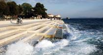 Un órgano de 70 metros recoge el sonido del mar Adriático.